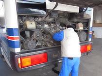 バスヒーター修理
